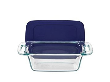 Easy Grab 1.5 Qt. Loaf Dish with Plastic -