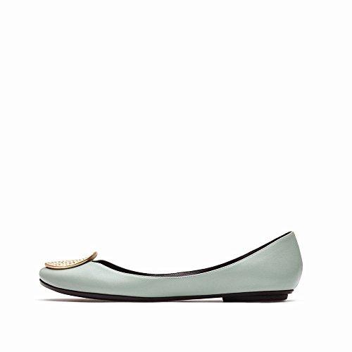 Été des Chaussures Chaussures Plates Bouche Printemps avec Profonde Ballet Chaussures F Plates NSX de Et Peu Y6Ent7O