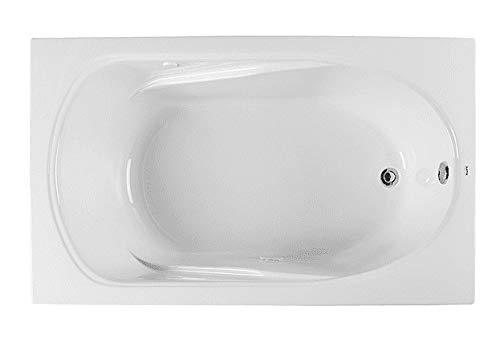 Buy PROFLO PFS6042AWH 60 X 42 Drop-In or Alcove Soaking Bathtub - EasyCare Acrylic
