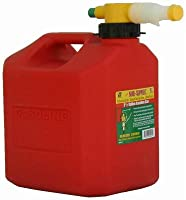 No Spill 1405 CARB Compliant Gas Can, 2-1/2-Gallon from No Spill