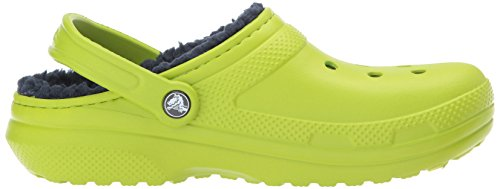 Erwachsene Unisex Clogs Classic Volt crocs Lined Navy Grün Green qSxOBCCw