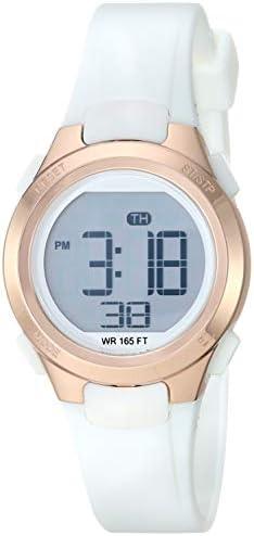 Amazon Essentials Women's Digital Chronograph Resin Strap Watch