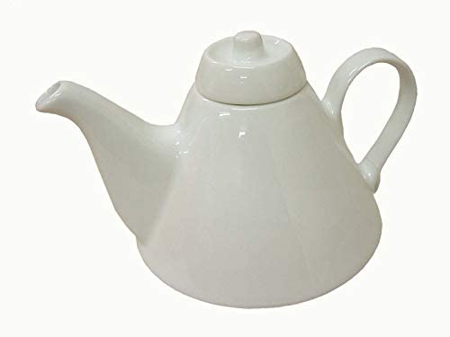 TETERA CAFETERA CONO 500 ML PORCELANA BLANCO: Amazon.es: Hogar
