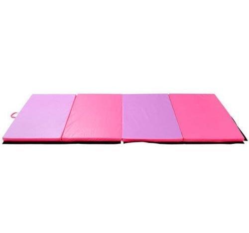 Polar Aurora 4x6x2 / 2x6x1.5 Gymnastics Folding Mat Fitness Aerobics Exercise Yoga Tumbling Mat Colors