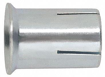 1/2''-13 Flange Expansion Anchor, 1''L x 1/2'' Dia., 50 PK