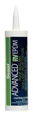 Geocel 56801 White Advanced RV EPDM Roof Sealant by Geocel