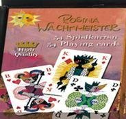Playing Card Deck: Poker, Bridge, Canasta.Art by Rosina Wachtmeister