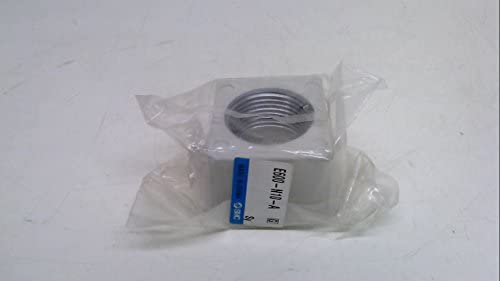 Smc E600-N10-A, Piping Adapter, Port Size: 3/4