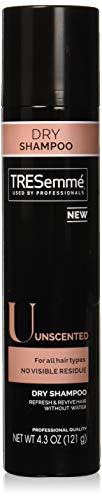 TRESemmé Dry Shampoo, Unscented, 4.3 oz