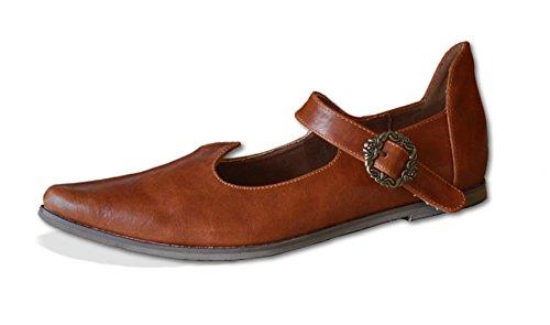 Moyen-chaussures princesse narren jecken lARP pour déguisement de sorcière 6yirB3R