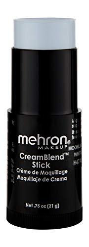 Mehron Makeup CreamBlend Stick (.75 oz) (MOONLIGHT WHITE) ()