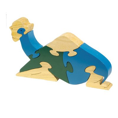 (Sitting Camel Children's Wooden Puzzle)