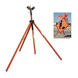 Dicke Safety Products T155 Specialty Sign Stand, Heavy Duty Tripod