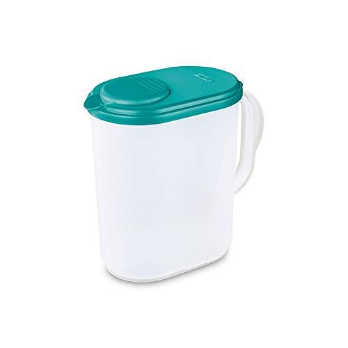 Sterilite 04900906 1 Gallon Pitcher with Blue Lid