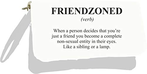 Friendzoned Silver Gold in Alternative Funny Clutch Not The Bag Definition Metallic Dictionary rqPwUfrv