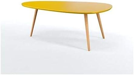 Générique Stone01 Table Basse Style scandinave en MDF laqué