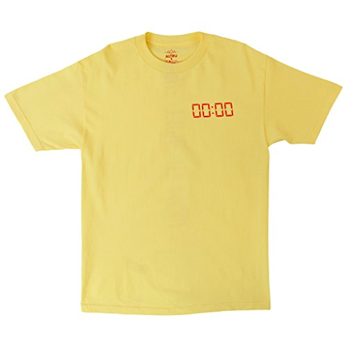 db48caa2f ALTRU APPAREL The Time is Now Yellow Graphic tee