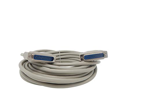 - Your Cable Store 25 Foot DB25 25 Pin Serial Port Cable Male/Male RS232