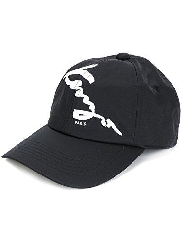 Kenzo Men's F765ac201f2299 Black polyamide Hat by Kenzo