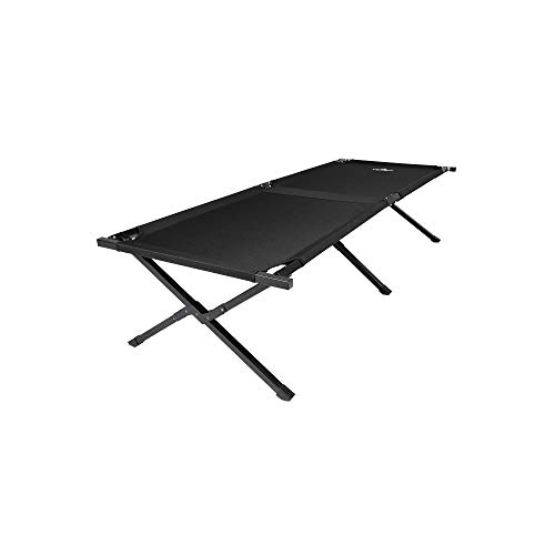 TETON Sports Adventurer Camp Cot; Finally, a Cot that Brings the Comfort of Home to the Campsite; Camping Cots for Adults; Easy Set Up; Storage Bag Included