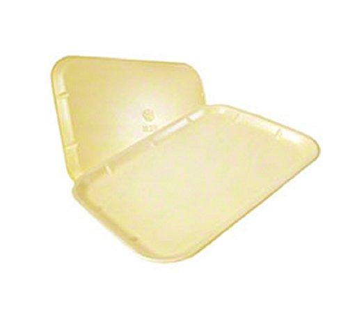 Yellow Foam Meat Tray - CKF 1014Y, 10