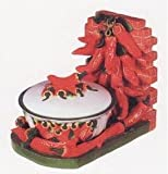CHILI PEPPER 3-Dimensional Candy Dish Jar Tray *NEW!*