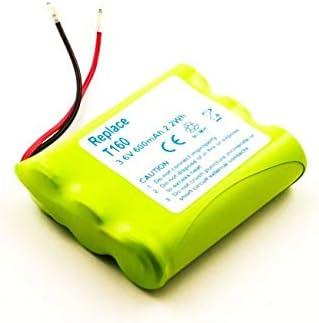 Batería para teléfono inalámbrico Universal, Panasonic, Philips, Sanyo, NiMH, 3,6 V, 600 mAh: Amazon.es: Electrónica