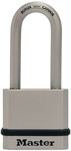 Master Lock M530XQLH Magnum Solid Steel Keyed Alike Padlocks 1 Pack