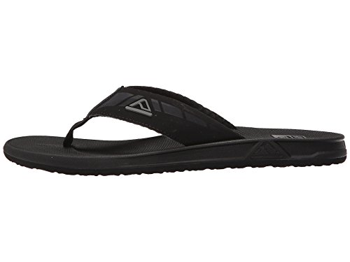 Waterproof Footbed Sandals Phantom Black With Cushion Men For Reef Flops Mens Bounce Ii Flip Tw6WqPfpa4