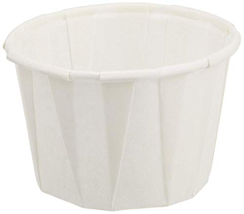 Genpak F200 2 Ounce Paper Portion Cups. Pack of 250
