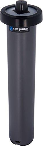 - San Jamar C2010C Portion Cup EZ-Fit in-Counter Dispenser, Fits 1/2oz to 2-1/2oz Cup Size, 1-1/2