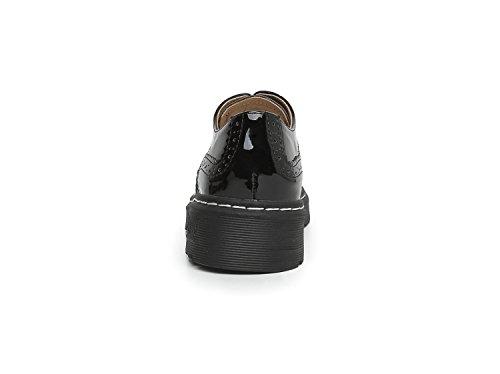 Chaussures de Ville à pour Minotta Noir Noir Femme Lacets 36 5 RTqdxw