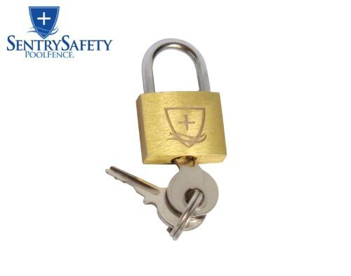 Sentry Safety Pool Fence Pad Lock