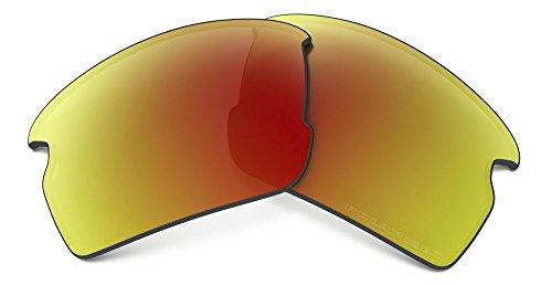(Oakley Mens 101-355-017 Flak 2.0 Replacement Lense Kit, Ruby Iridium Pol)