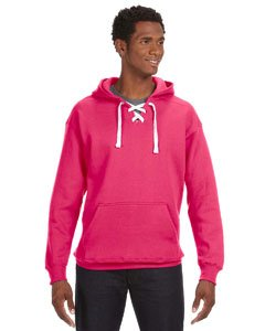 (Wildberry Hockey Hood Sweatshirt: 80% Ringspun Cotton, 20% Polyester Fleece Fabric.,Wildberry)
