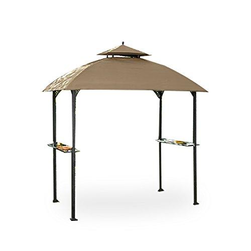 Garden Winds LCM1203B Windsor Grill Gazebo Standard 350 Replacement Canopy, Beige (Canopy Grill Replacement Gazebo)