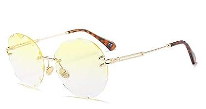 90a53c8c1ce94 Kasuki 2018 Luxury Transparent Gradient Rimless Sunglasses Women Brand  Designer Sun Glasses Gradient Shades UV400 Eyewear