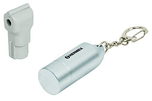 Hermex CANGA-100, Candado para Gancho con Llave Magnética (100 Piezas)