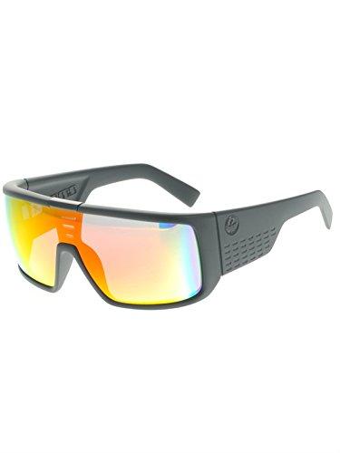 Dragon Sunglasses - Domo / Frame: Matte Black Lens: Red (Domo Glasses)