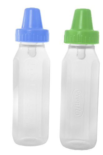 Medical line Classic Clear Plastic Baby Bottles by Ameda (4 OZ PLASTIC 36 Per case)