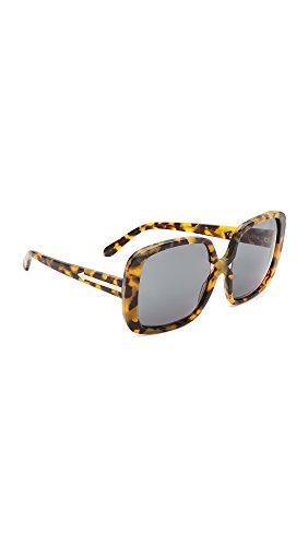 Karen Walker Women's Marques Sunglasses, Crazy Tort Gold/G15 Mono, One Size