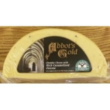 Wensleydale Creamery Abbots Gold with Carmalized Onion, 2.4 Pound -- 4 per case. by Anco Fine Foods