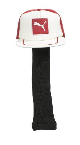 Puma Rickie Fowler Cat Patch gorro controlador headcover- nuevo para cabeza de 2015 Rojo