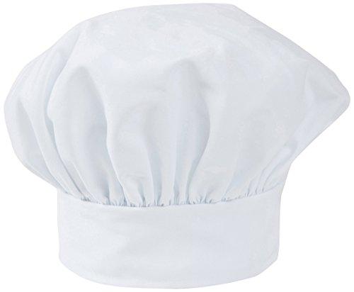 Mercer Culinary M60090WH Millennia Soft Toque, White