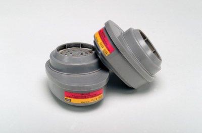 MSA GMC Cartridge For Advantage Series Air Purifying Respirator. (2 Packs)