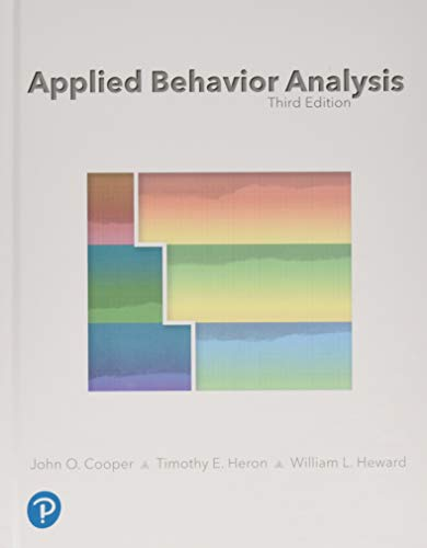Applied Behavior Analysis (3rd Edition)