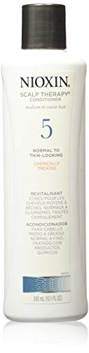 Nioxin Scalp Therapy Conditioner, System 5 (Chemically Treated Hair/Normal to Light Thinning)