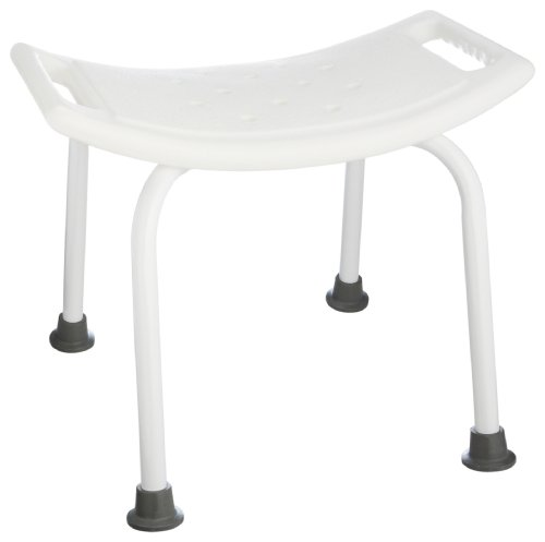 Taymor White Powder Coated Bath Safety ADA Seat
