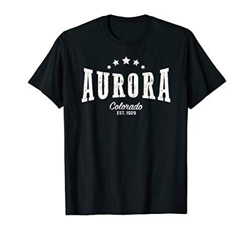 Vintage Aurora Shirt CO Home City Pride -