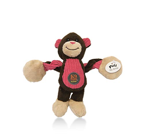 (CHARMING Pet Baby Pulleez Monkey Durable Rope Dog Toy)